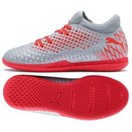 Puma Futrure 4.4 It Jr 105700 01 graue Schuhe