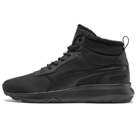 Puma Activate Mid Wtr M 369784 01 Schuhe schwarz