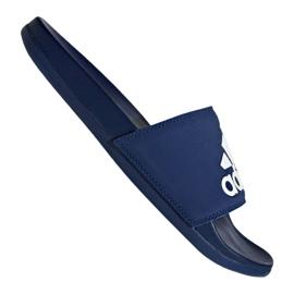 Blau Adidas Adilette Comfort Plus M B44870 Hausschuhe