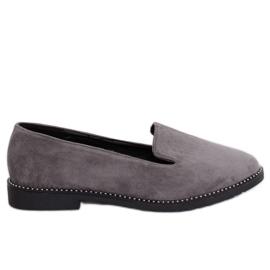 Graue Herren graue Slipper N90 Grau