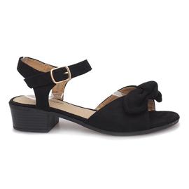 Schwarze Noemia High Heels Sandalen