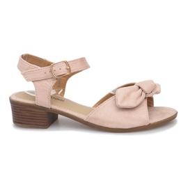 Noemia High Heels Sandalen braun
