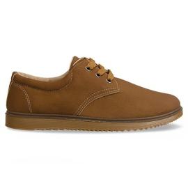 Klassische Schuhe Stiefel 1307 Kamel braun
