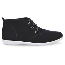 Hohe elegante Schuhe 3569 Schwarz