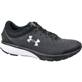 Grau Under Armour Charged Escape 3 M 3021949-001 Laufschuhe