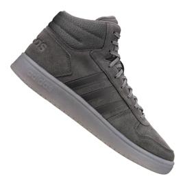 Grau Adidas Hoops 2.0 Mid M B44635 Schuhe