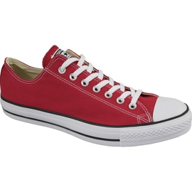 Converse C. Taylor All Star Ox Optisch Rot M M9696 Schuhe