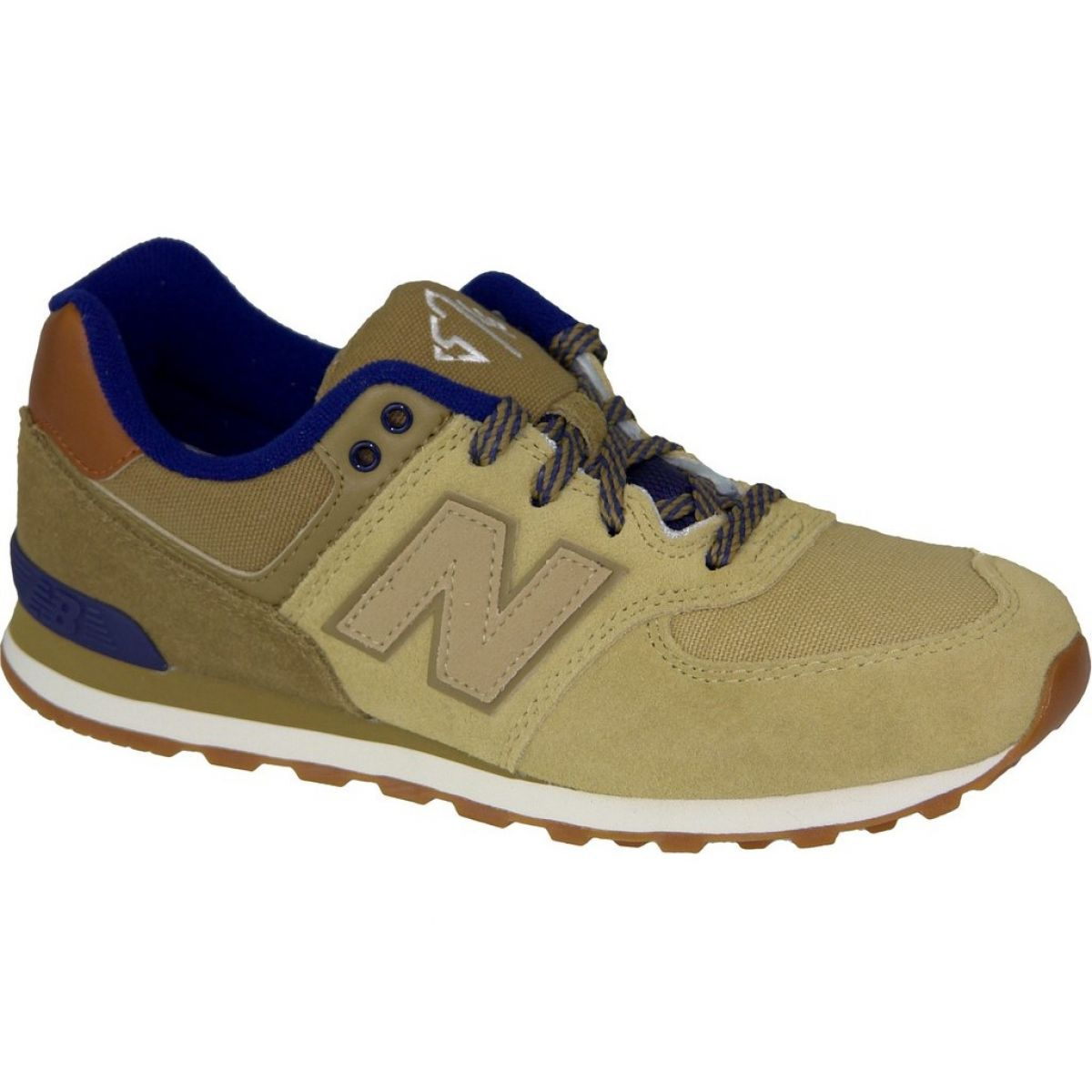 cheaper 5b4a4 56085 Braun New Balance Schuhe W KL574NMG