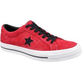 Converse One Star M 163246C Schuhe rot
