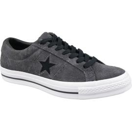 Converse One Star Schuhe M 163247C grau