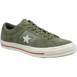 Converse One Star Schuhe 163198C grün