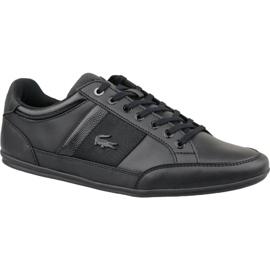 Schwarz Lacoste Chaymon 119 2 M 737CMA000702H Schuhe