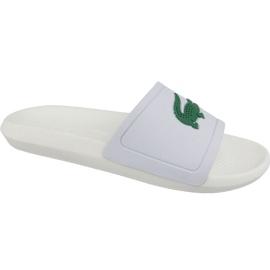 Lacoste Croco Slide 119 1 M Hausschuhe 737CMA0018082 weiß