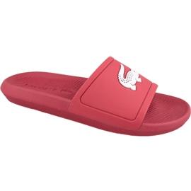 Lacoste Croco Slide 119 1 M Hausschuhe 737CMA001817K rot