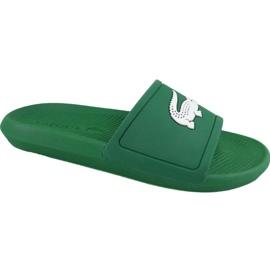 Lacoste Croco Slide 119 1 M Hausschuhe 737CMA00181R7 grün