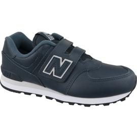 New Balance YV574ERV Jr Schuhe marineblau