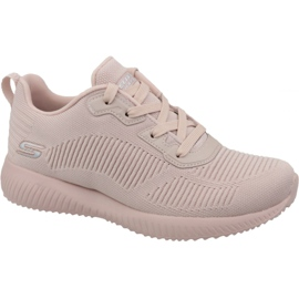 Pink Skechers Bobs Squad W 32504-PNK Schuhe