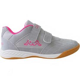 Grau Kappa Kickoff Jr 260509K 1522 Schuhe