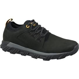 Schwarz Caterpillar Electroplate Leather M P723551 Schuhe