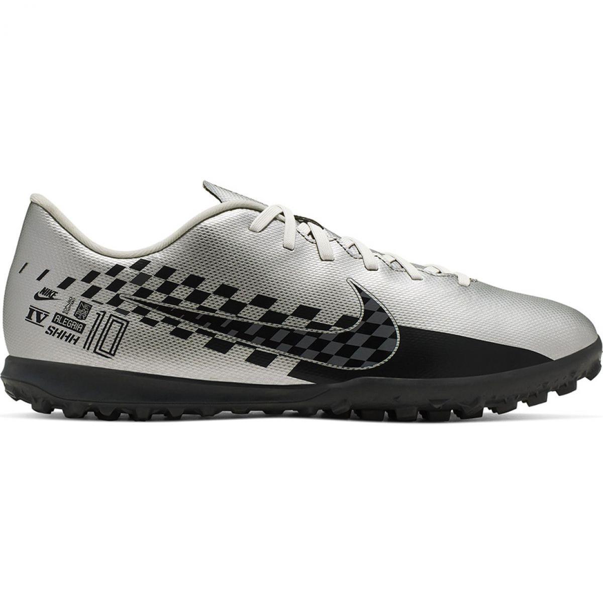 Nike Mercurial Vapor 13 Neymar Tf M At8000 006 Fussballschuhe Silber Grau Silber