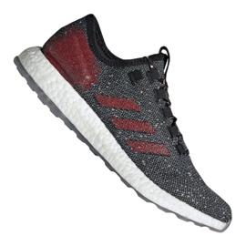 Grau Adidas PureBoost M B37777 Schuhe