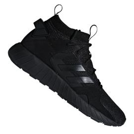Schwarz Adidas Questarstrike Mid M G25774 Schuhe