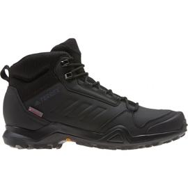 Schwarz Adidas Terrex AX3 Beta Mid M G26524 Schuhe