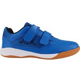 Blau Kappa Kickoff Jr 260509K 6011 Schuhe