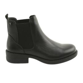 Schwarze Stiefel Sergio Leone 552