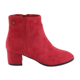 Filippo 316 Wildleder rote Stiefel