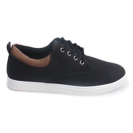 Casual Herren Sneakers 655 Schwarz