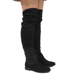 Schwarze isolierte Stiefel 7570-PG