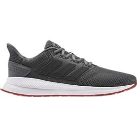 Grau Adidas Runfalcon M EE8153 Laufschuhe