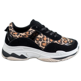 Kylie Turnschuhe mit Leopardenmuster