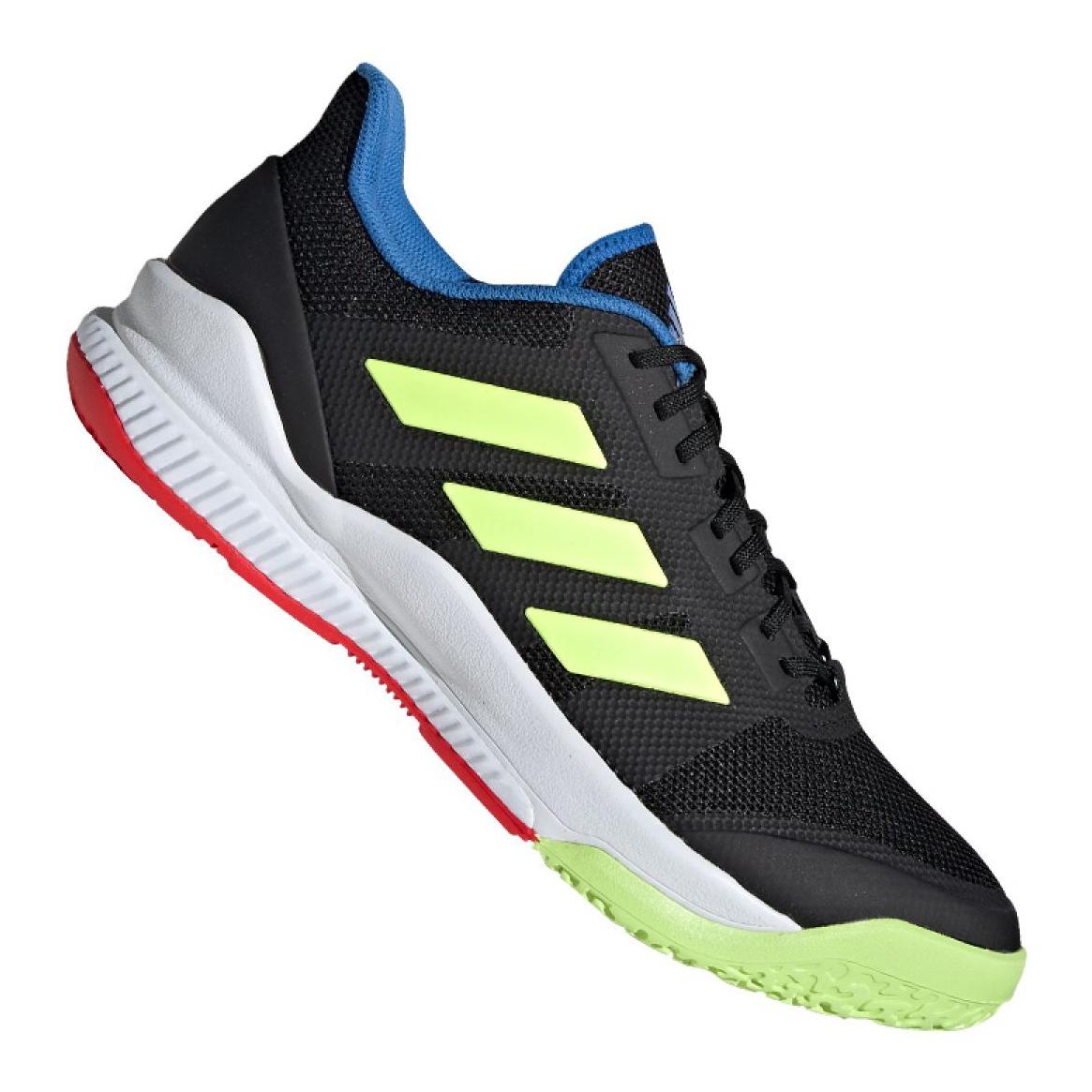 Adidas Stabil Bounce M BD7412 Schuhe schwarz schwarz