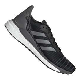 Schwarz Adidas Solar Glide 19 M G28463 Schuhe
