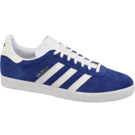 Blau Adidas Originals Gazelle B41648 Schuhe
