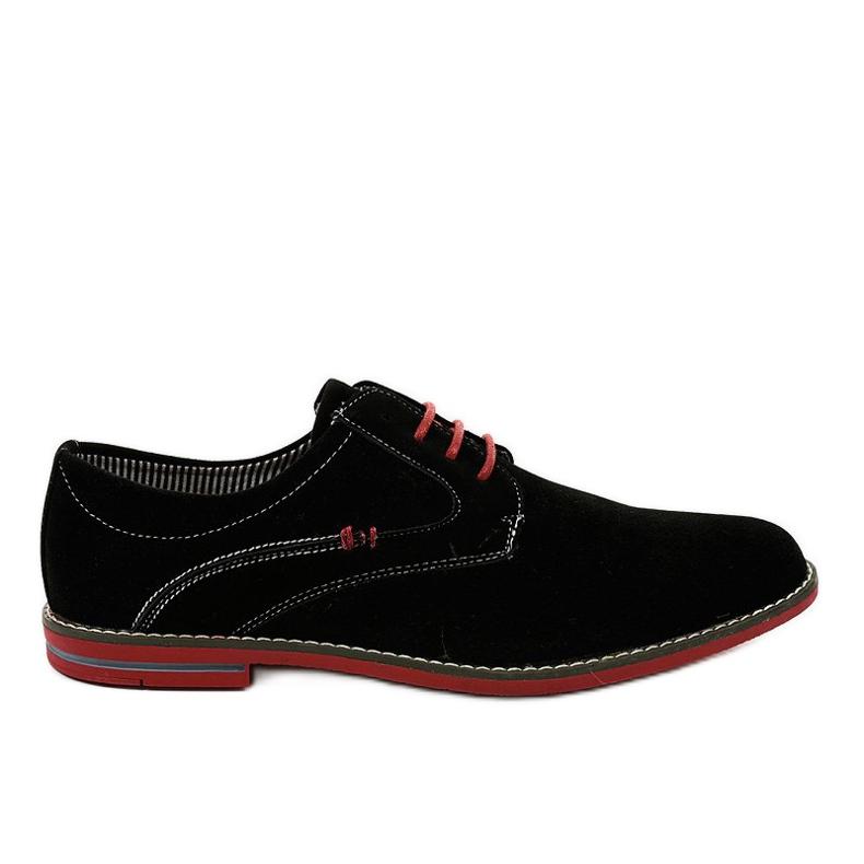 Schwarze elegante Schuhe 6-688