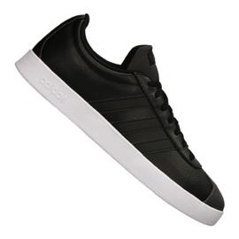 Schwarz Adidas Vl Court 2.0 M DA9885 Schuhe