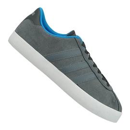 Grau Adidas Vl Court Vulc M AW3927 Schuhe