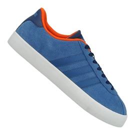 Blau Adidas Vl Court Vulc M AW3963 Schuhe