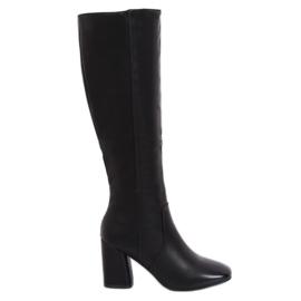 Schwarz Klassische schwarze High Heels 5319 Schwarz