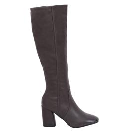Grey Heels classic 5319 Grau