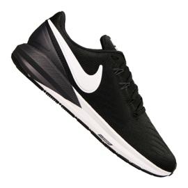 Schwarz Nike Air Zoom Structure 22 M AA1636-002 Schuhe