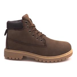 Isolierte Stiefel ZY1609-1 Braun