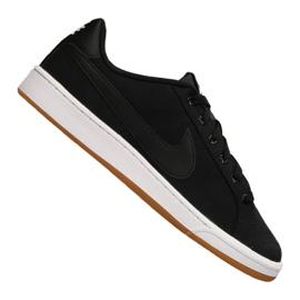 Schwarz Nike Court Royale Canvas M AA2156-001 Schuhe