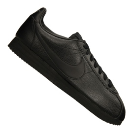 Schwarz Nike Classic Leather M 749571-002 Schuhe