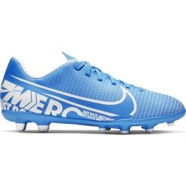 Nike Mercurial Vapor 13 FG / MG Junior AT8161-414 Fußballschuhe