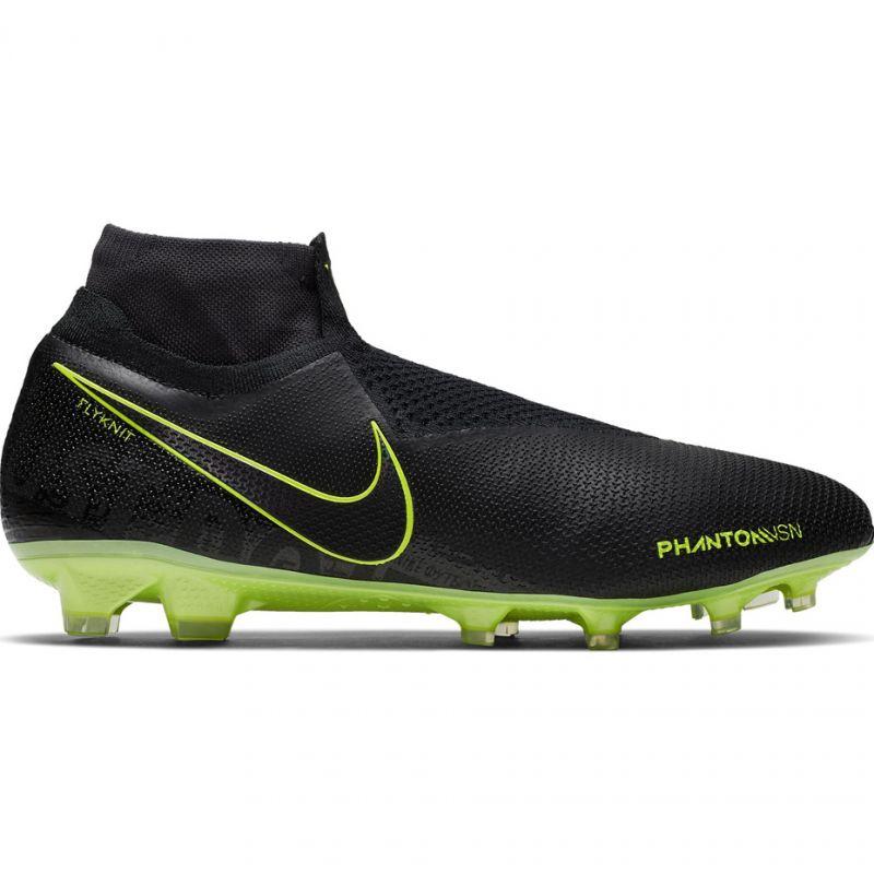Nike Phantom Vsn Elite Df Fg M Ao3262 007 Fussballschuhe Schwarz Schwarz