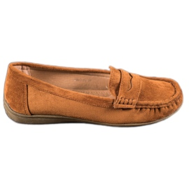 Sixth Sense Wildleder Slipper braun